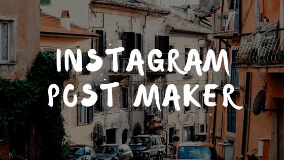 Instagram-Post-Maker