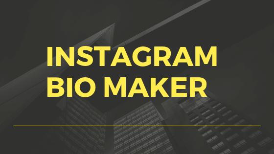 Instagram-bio-maker