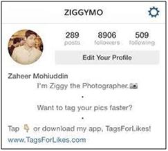 instagram-bio-maker-add-center-alignment