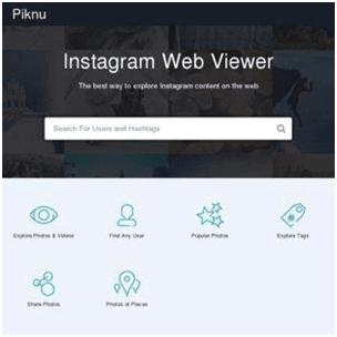Piknu-Instagram-viewer