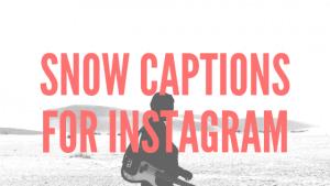 snow-instagram-captions
