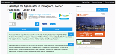 Top-hashtags-Ig-hashtag-generator